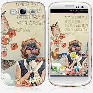 Galaxy S3 case - Skinkin - Original Design : I can see the beauty by Anne-Sophie Annese