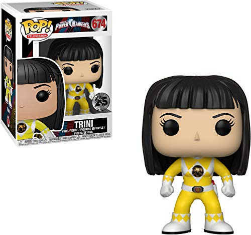 Funko Pop! Trini sin Casco(Power Ranger Amarillo) - Power Rangers