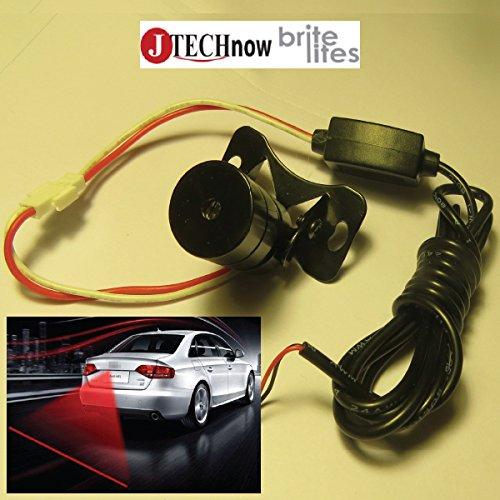 Car Laser Rear Fog Light Warning Lamp Anti-Collision Taillight