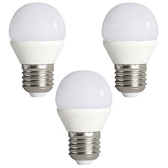 3er Set 6,5 Watt SMD LED Leuchtmittel E27 Lampe Strahler 600 Lumen EEK A 3000 K