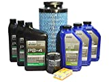 Polaris RZR XP 4 1000 Turbo OEM Full Synthetic Oil Change Kit POL05