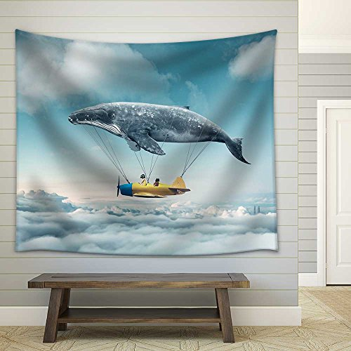 Take Me to the Dream Fabric Wall Tapestry
