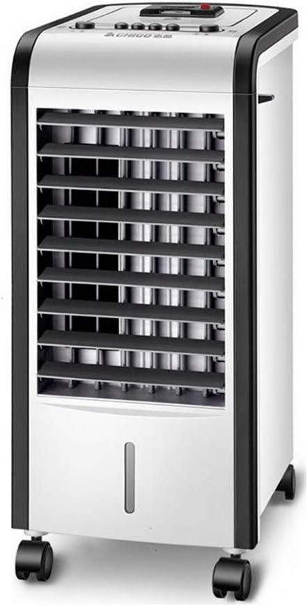 GY-屋内ポータブル空調ファン冷却付き蒸発冷却器(80w)/加熱(2000w)ファンおよび加湿器、空気を浄化、3つの速度、ホームオフィス用(ホワイト/ブラック)