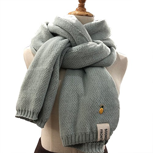 18 Inch Cashmere - Monqui Cashmere Feel Winter Scarf - Oversized 78