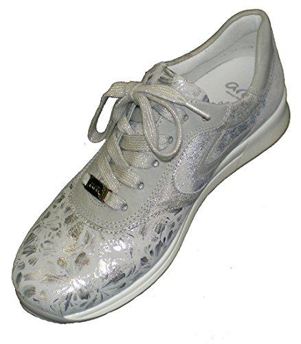 ara 12-15001 Oslo Women Sneaker With K Grey vK2gp