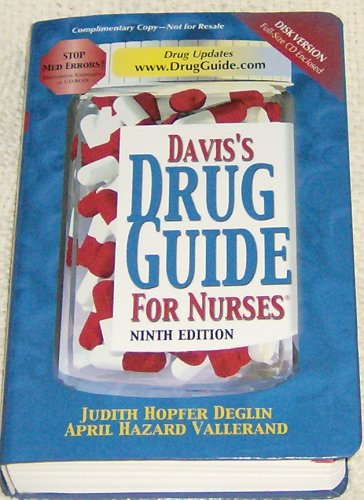 Davis' Drug Guide for Nurses, Ninth Edition