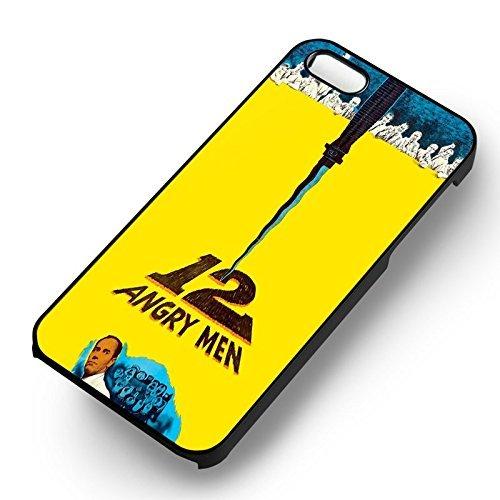 12 Angry Men pour Coque Iphone 6 et Coque Iphone 6s Case (Noir Boîtier en plastique dur) C9I3DR
