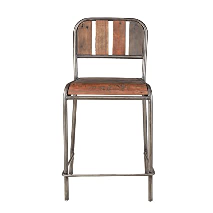 Amazon Com Ink Ivy Counter Stool With Backrest See Below