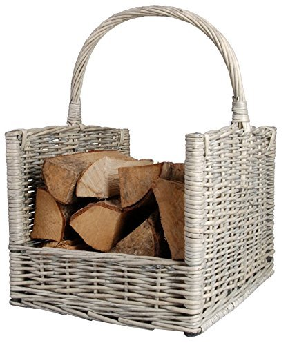 Esschert Design Firewood Basket (Basket Wood Fireplace)