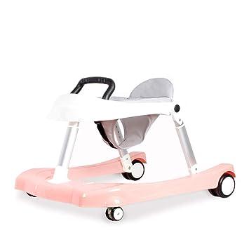 WMYJXD Andador para Bebés, Andador Manual, Ajustable, Antivuelco ...