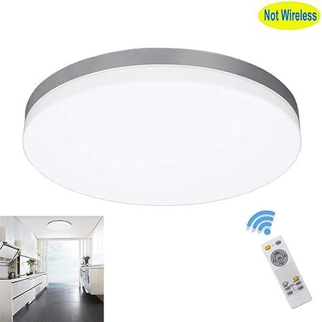 Amazon.com: W-LITE - Lámpara de techo de 24 W regulable ...