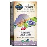 Garden of Life mykind Organics Prenatal Vitamins