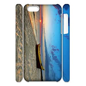 Cell phone 3D Bumper Plastic Case Of Boat For iPhone 5C by icecream design