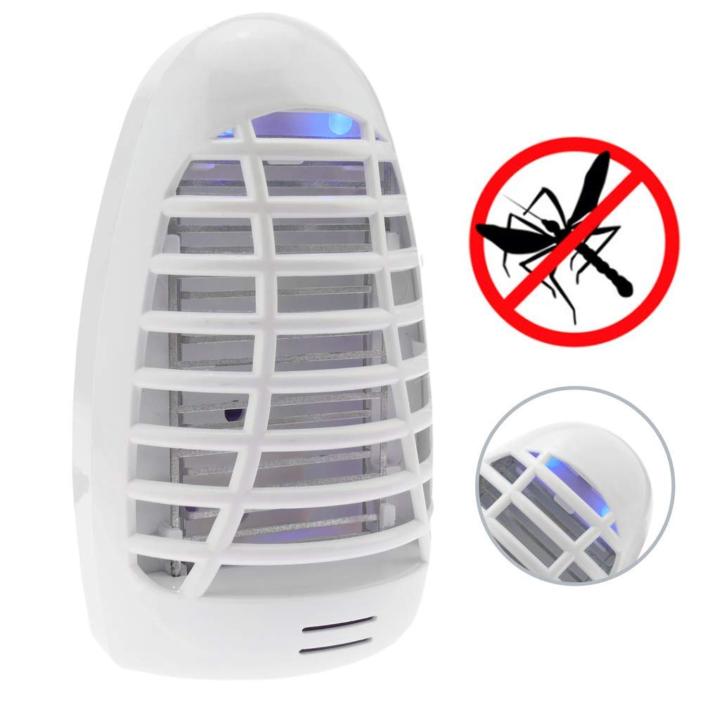 Decdeal 5W USB L/ámpara de Mata Mosquitos Fotocatalizador,LED Insectos Trampa L/ámparade,Sin Productos Qu/ímicos y Radiaci/ón