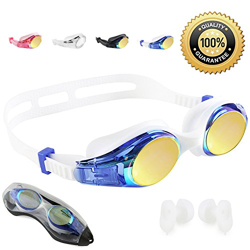 - Abstract Goggles (Blue)