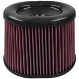 S&B Filters KF-1035 High Performance Replacement Filter (Cleanable, 8-ply Cotton)
