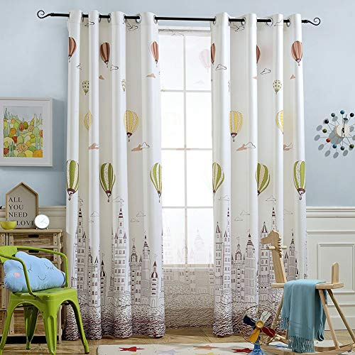hot air balloon window curtains - 1