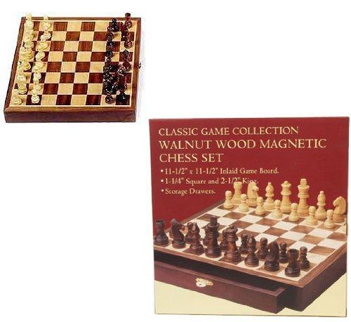 当社の Walnut [並行輸入品] Wood Chess Set Chess Set [並行輸入品] B01M5B4YZL, 結城市:1b156998 --- cygne.mdxdemo.com