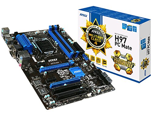 MSI Intel Z97 LGA 1150 DDR3 USB 3.0 ATX Motherboard (Z97 PC Mate)
