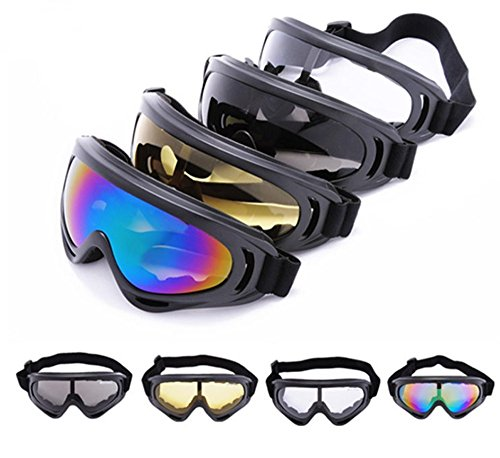 YYGIFT CS Goggles Windproof UV400 Motorcycle Cycling Snowmobile Ski Goggles Eyewear Sports Protective Safety Glasses