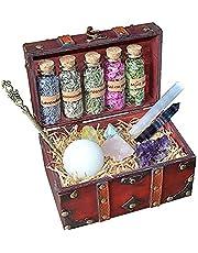 N\C Wiccan Kit   Hekserij Kit Spellingbenodigdheden en gereedschap   Kristallen Sets voor Hekserij   Starterset   Heksenkruiden   Altaar benodigdheden en gereedschap