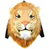 VIAHART Authentic Tigerdome Lion Animal Head Backpack Bag Knapsack and Wall Mount   Shipping from Texas