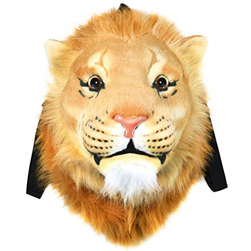 VIAHART Authentic Tigerdome Lion Animal Head Backpack Bag Knapsack and Wall Mount | Shipping from -