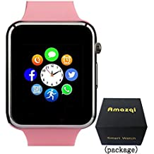 Smart Watch with Bluetooth Camera Music Player for IOS iPhone, Android Samsung HTC Sony LG Huawei Smartphones