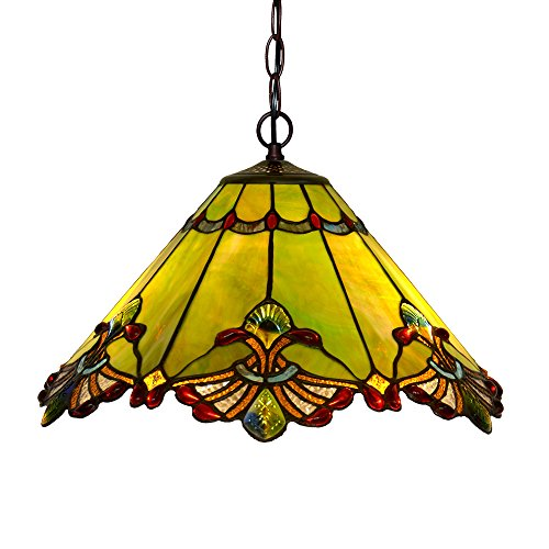 Dark Green Pendant Light in US - 8
