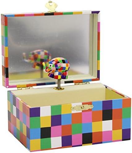Trousselier - Caja de música, diseño Elmer (Trousselier S91064): Amazon.es: Bebé