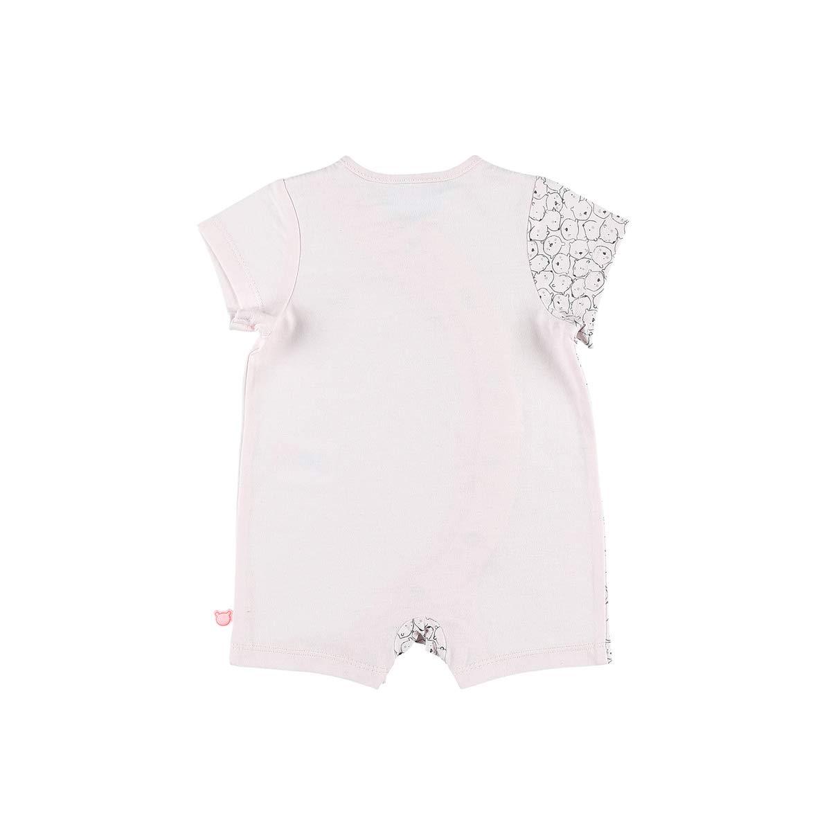 3b0597214e257 NOUKIES Combishort pyjama en jersey Bébé Mixte rose clair 9M