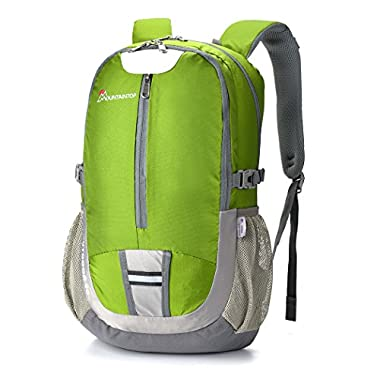 Mountaintop 40l Hiking Backpack Lightweight Water-resistant Backpacks for Outdoor Sports School Daypack Green