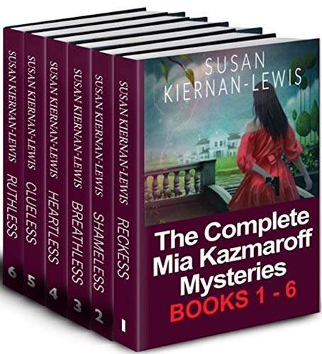 Mia Kazmaroff has a gift nobody wants. She's able to tell the story behind any object simply by touch. It's a handy gift when it comes to solving crimes! Get the complete 6-book set of the Mia Kazmaroff Mystery Series by Susan Kiernan-Lewis!
