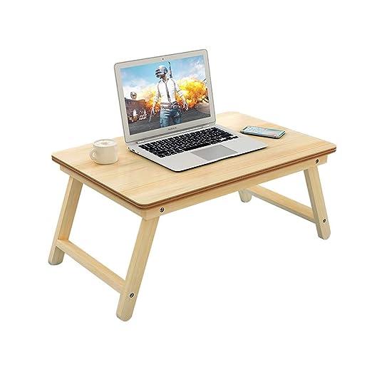 Mesa plegable for portátil Dormitorio Estudio Escritorio de madera ...