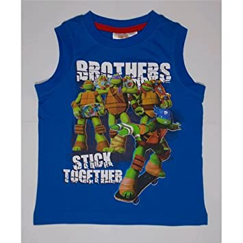 Ninja Turtles Kids Vest Summer Top Blue
