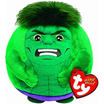 TY Beanie Ballz Hulk Regular Plush