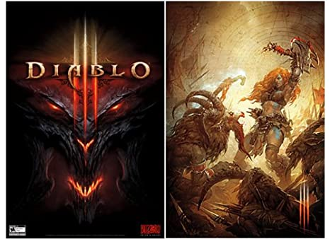 Diablo 3 Double-Sided Poster (24