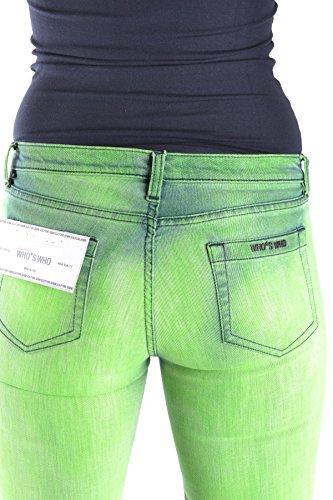 Who Verde Who's Donna Jeans Mcbi312009o Cotone dFFXawq