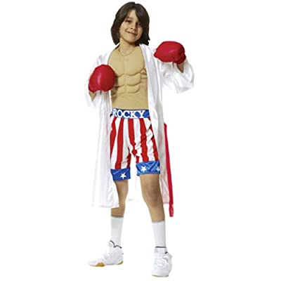 Child's Rocky Movie Costume (Medium 8-10): Toys & Games