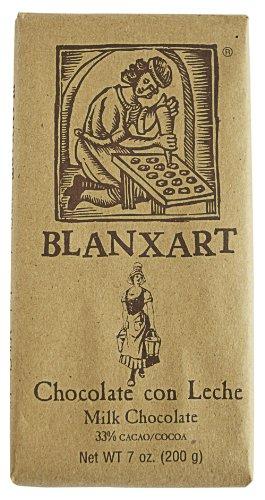 Chocolate Spanish Milk - Blanxart Milk Chocolate Bar, 7.05 oz