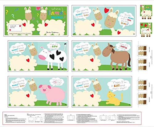 Where's Llama's Mama? Book Panel 36