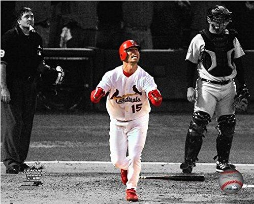 (Jim Edmonds St. Louis Cardinals 2004 MLB NLCS Game 6 Home Run Spotlight Action Photo (Size: 8