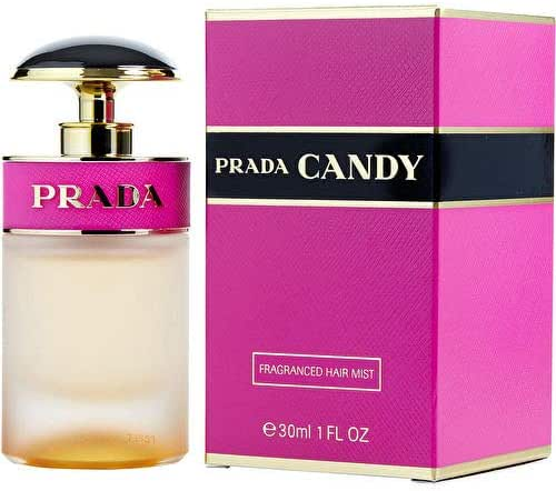 P r a d a Candy Fragranced Hair Mist Perfume For Women 1.0 OZ./ 30 ml.