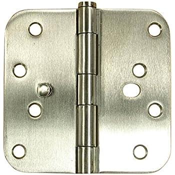 Security Door Hinges - Stainless Steel - 4\