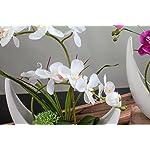Fudostar-Artificial-Silk-Flowers-Potting-in-White-Ceramic-Crescent-Vase-Natural-Looking-Phalaenopsis-Flowers-and-Greens-Handmade-Flower-Arrangement-White
