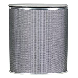 Redmon Pewter Style Bowed Front Hamper