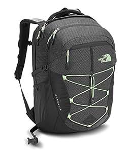 The North Face Women's Borealis Backpack - Asphalt Grey Dark Heather/Subtle Green - One Size