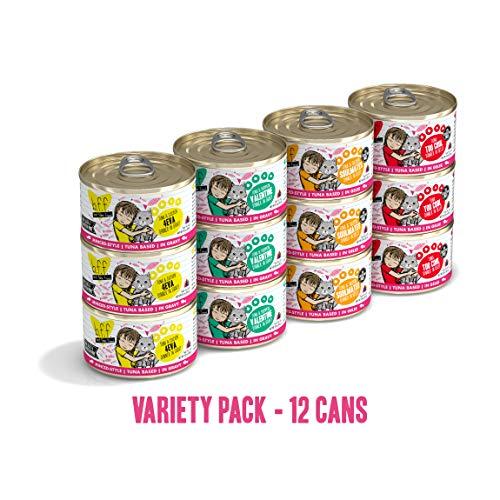 Weruva Best Feline Friend Variety Pack - 12 x 3 oz (Best Friends Cat Food)
