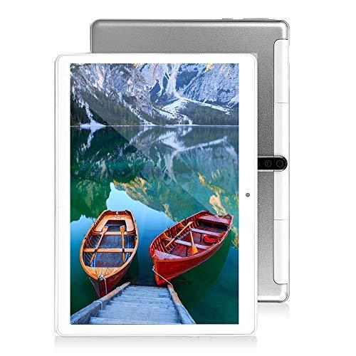 10 inch Android Tablet PC, Octa-Core Processor, 5G-WiFi, 4GB RAM, 64GB ROM, Dual SIM Cards Slot Unlocked Tablet, Built…