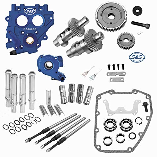 (S&S Cycle Cam Chest Kit Gear Drive 585GE Fits 99-06 Twin Cam)